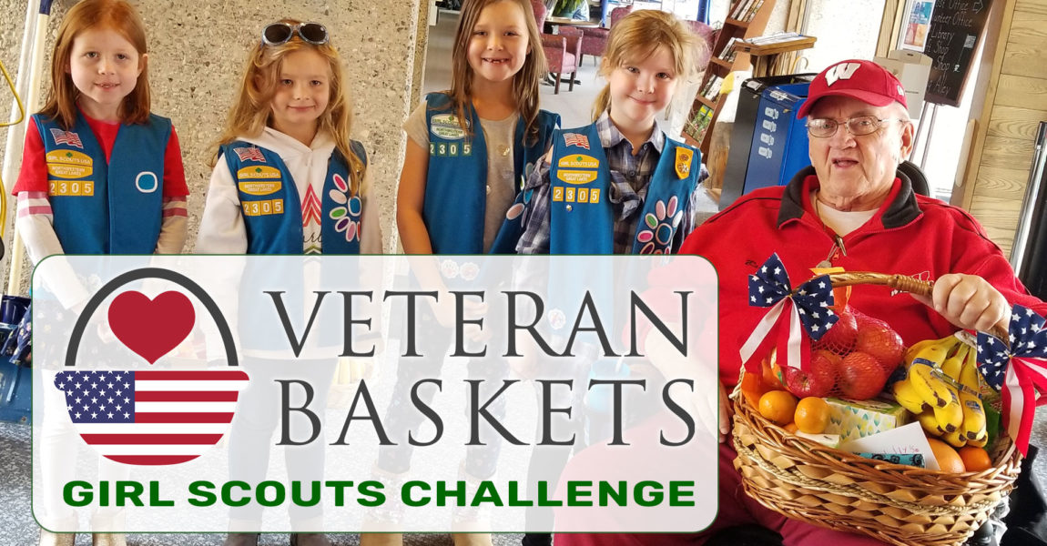 Girl Scouts thank Veterans!