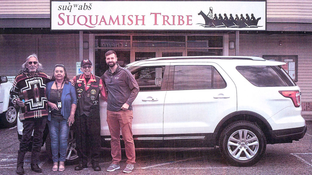 Suquamish Tribe Vehicle Grant WWFS