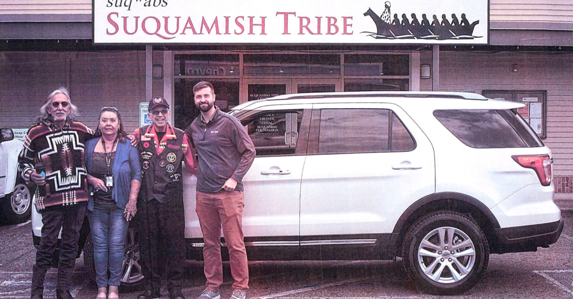 Suquamish Tribe Vehicle Grant