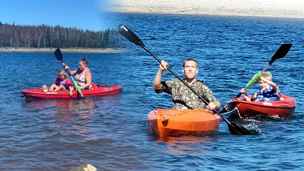 Cox Family Kayaking