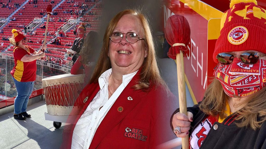 Sandy Bentch honored by Kansas City Chiefs