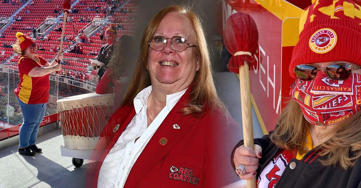 High Five Tour volunteer, Sandy Bentch, honored by Kansas City Chiefs