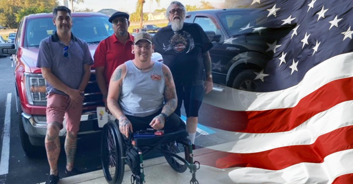 Brandon Long Honored with Mobility-Equipped Ford F-150