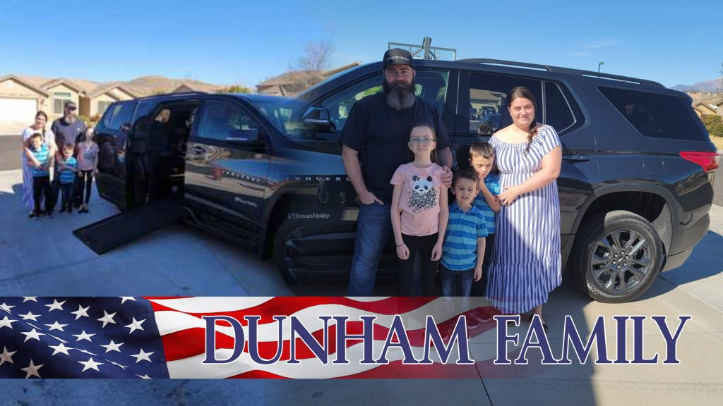 WWFS High Five Tour Vehicle Dunham Family