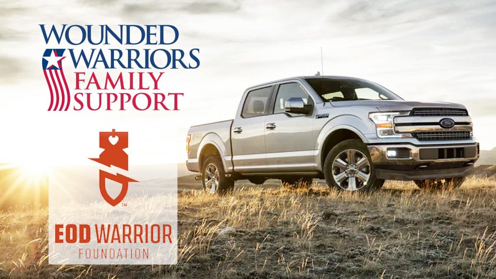 WWFS & EDO Warrior Foundation Partner to give trucks to combat wounded veterans