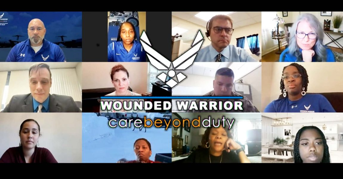 WWFS takes part in Air Force Wounded Warrior Virtual Care Fair