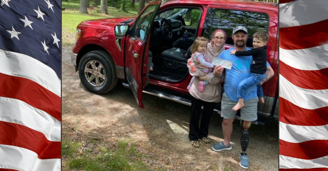 Alabama veteran, Father of four honored with mobility-equipped vehicle