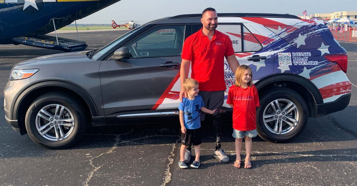Missouri Veteran Honored with Mobility-Equipped Vehicle During KC Air Show
