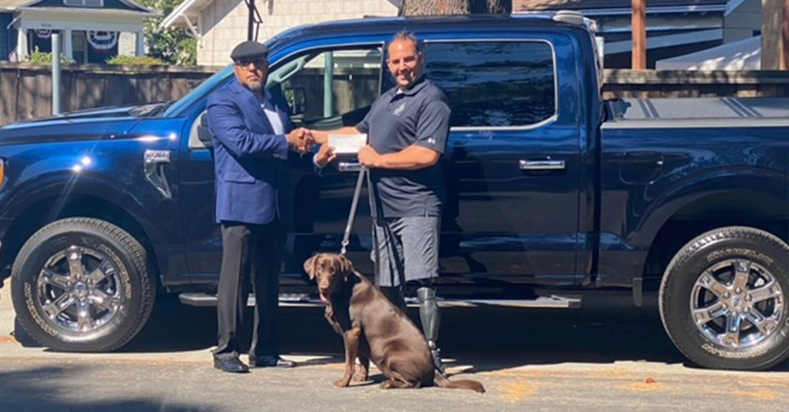 Combat-wounded Veteran, Mark Zambon, Honored with Ford F-150 Truck
