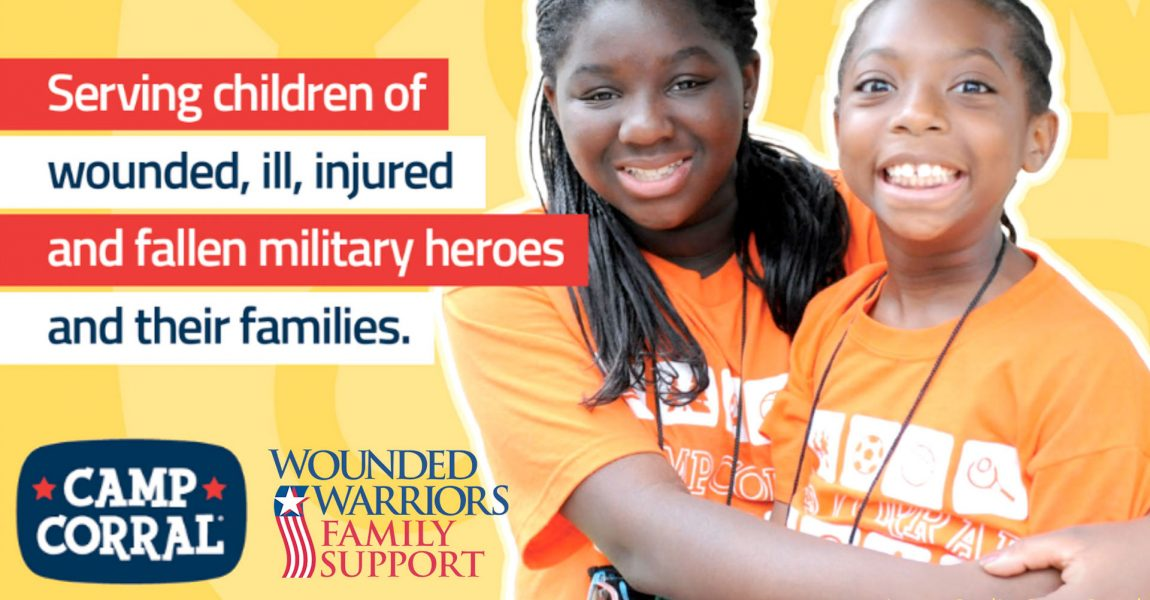 Wounded Warriors Family Support Becomes Official Sponsor of Camp Corral