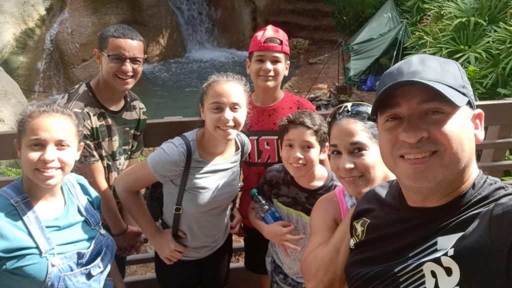 Gonzales Family at WWFS Family Retreat